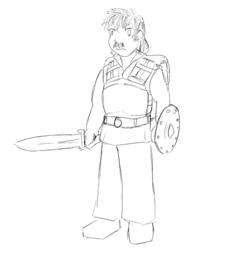 Zap Rowsdower, human mercenary