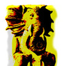 Chaugnar Faugn gold idol