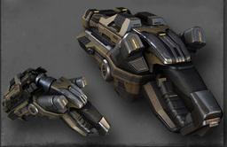 Articulated Rail Pistol