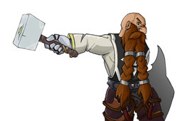 Dwarf Paladin Monk