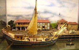 Uskaris trading vessel