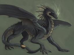 Sarkis, The Black Wyrm