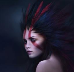 Red Arrow Woman