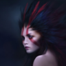 Red Arrow Woman