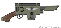 Empirum Militia Laser Pistol