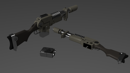 Empirum Militia Laser Rifle