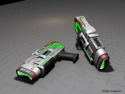 Empirum Infantry Plasma Pistol