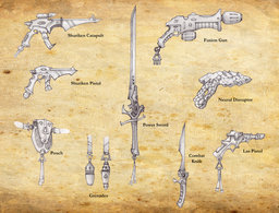Elven MagiWeapons
