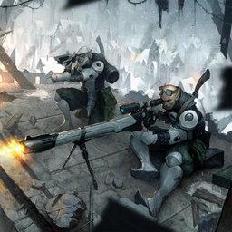 Union Infantry, High Elven Sniper