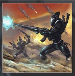 Union Infantry, Dark Elven Infantry