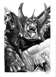 Union Infantry, Black Ork Warrior