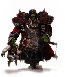 Union Infantry, Green Orc Soldier