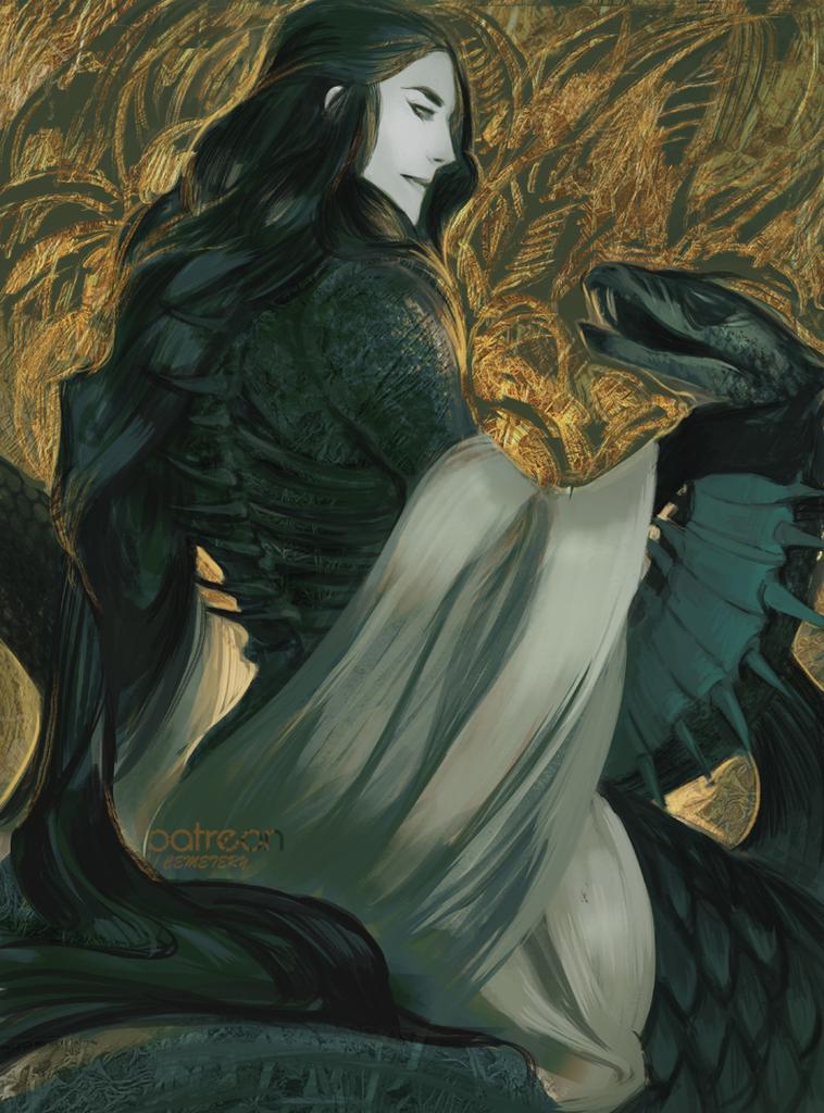 Vasiri, The Wind-Borne Serpent