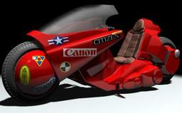 Highly Modified Kaneda Motorcycle