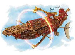 Caludrin Farill's Airship
