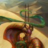 Glitter Flame: Vasiri, The Wind-Borne Serpent
