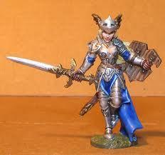 Lady Templar Leona Abayne