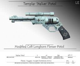 Personal Weapon - Stalker Pistol