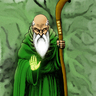 The Green Robed Man