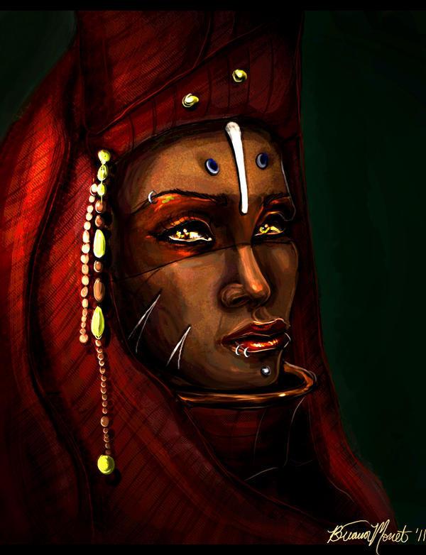 The Shade of Crimson Eternities