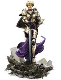 Ashlyn, Paladin of Lathander
