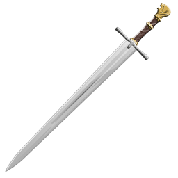 Hawk pommeled sword