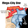 Mega city one sector map
