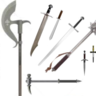 Basic Melee Weapon List