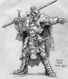 Hagrosh the Half-Orc