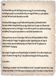 letter to Oglak