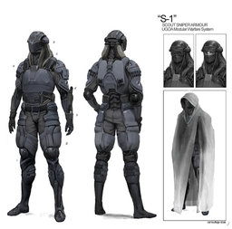 S-1 Light scout armor