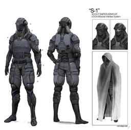 S-1 Light scout armor
