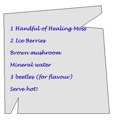 Potion Recipe: Cure for Troll Flu