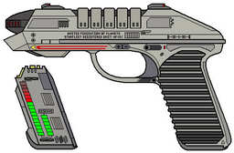 Star Fleet Pulse Pistol