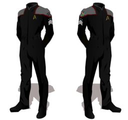 Star Fleet Duty Uniforms