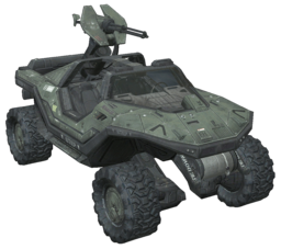 Warthog Scout Vehicle