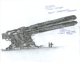 Railgun of some sort