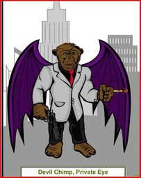 Devil Chimp, P.I.