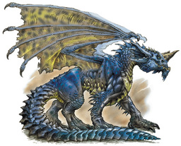 Gladiator Blue Dragon, Young