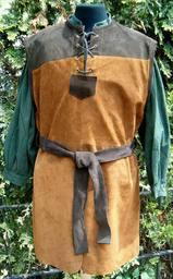 Lær tunic