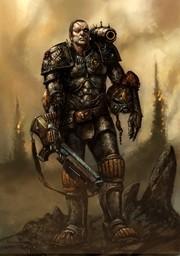 Enforcer-Sergeant Gideon Craine