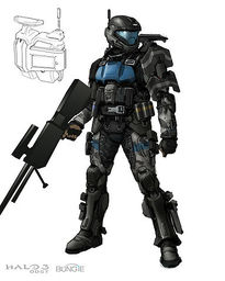 ODST Battle Dress Uniform (BDU) Sharpshooter Variant, O/I