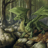 """Emerald"" - Green Dragon"