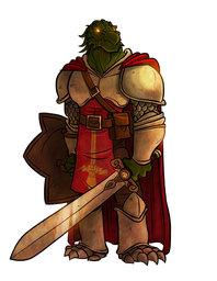 Sarjhan Thava of Clan Battlefist
