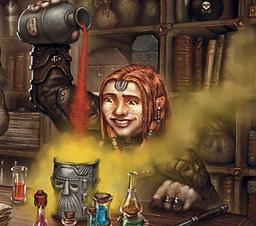 Grimma Finch, Alchemist