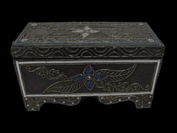Ornate Wooden Music Box