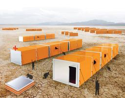 Accordian Tent