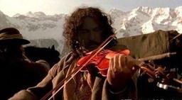 Lo Zingaro con il Violino Rosso