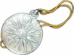 Tasius' Silver Vexus Holy Symbol