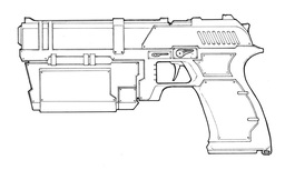 Hank's Pistol